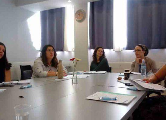 משתתפות בקורס ניהול רווחה וחווית העובד שהחל השבוע