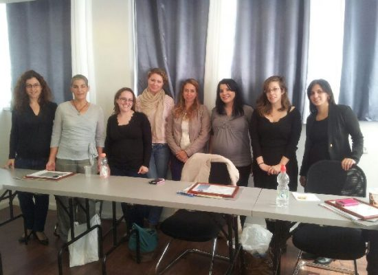 מסיימות קורס ממונות על מניעת הטרדות מיניות בארגון 03/2014
