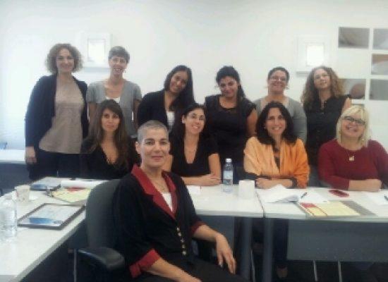 מסיימות קורס ממונות על מניעת הטרדות מיניות בארגון 10/2013