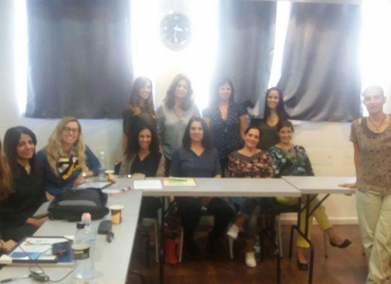 מסיימות קורס ממונות על מניעת הטרדות מיניות בארגון 11/2016