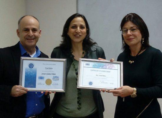 סיום קורס ניהול משאבי אנוש גלובלי בכיר, הכנה ל SHRM-SCP מחזור 10/17