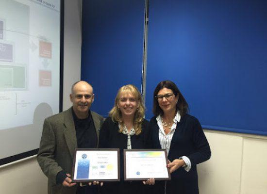 שרה שוהם מסיימת קורס Global HRM 02-16