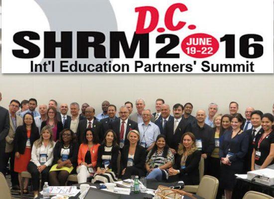 וועידת SHRM לשותפים הגלובליים בוושינגטון 06/2016